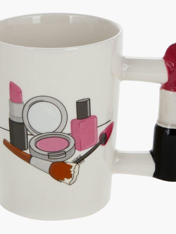 Adore Lipstick Shaped Handle Mug - new