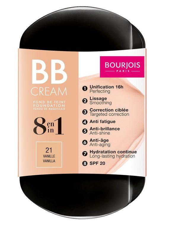Bourjois BB Cream 8 In 1 Foundation - new