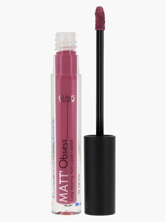 Glam's Makeup Matt Obsess Liquid Lipstick - new