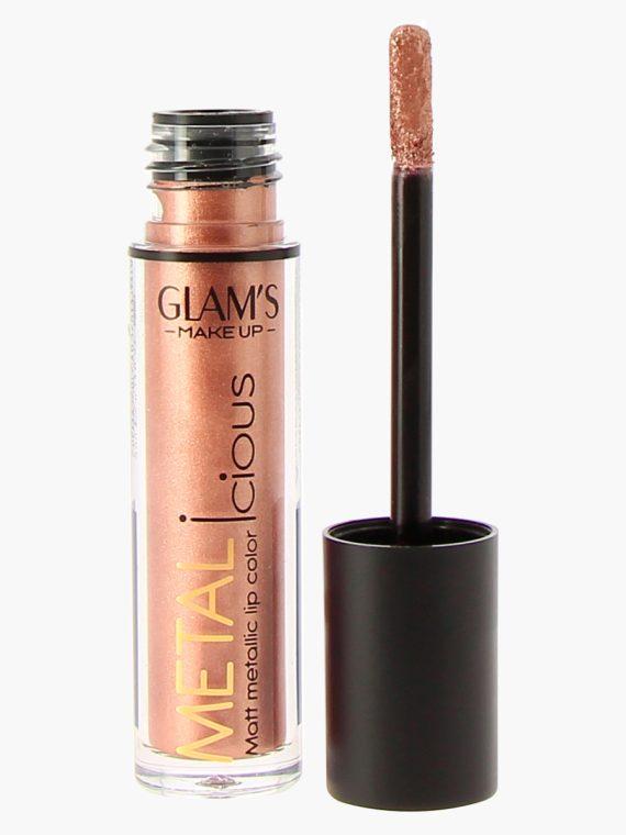 Glam's Makeup Metalicious Liquid Lipstick - new