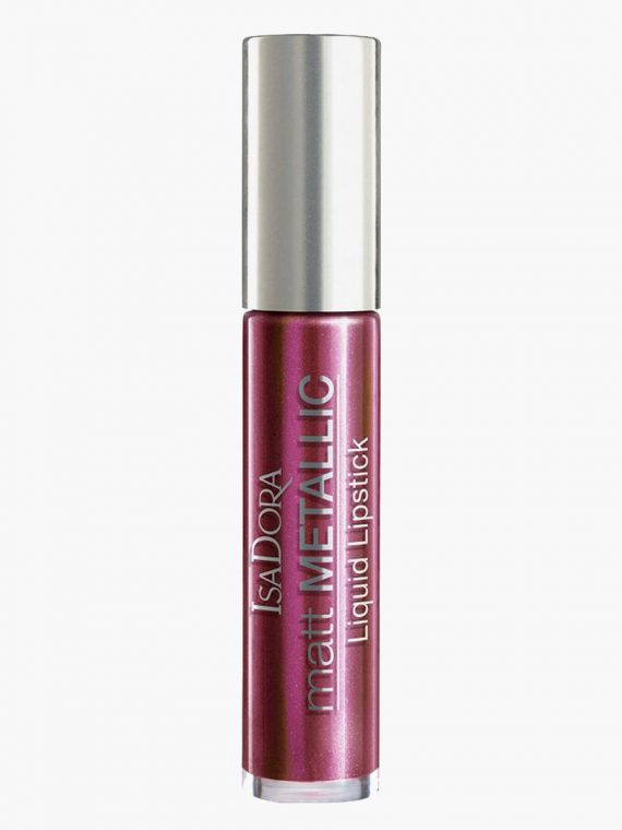 IsaDora Matte Metallic Liquid Lipstick - new