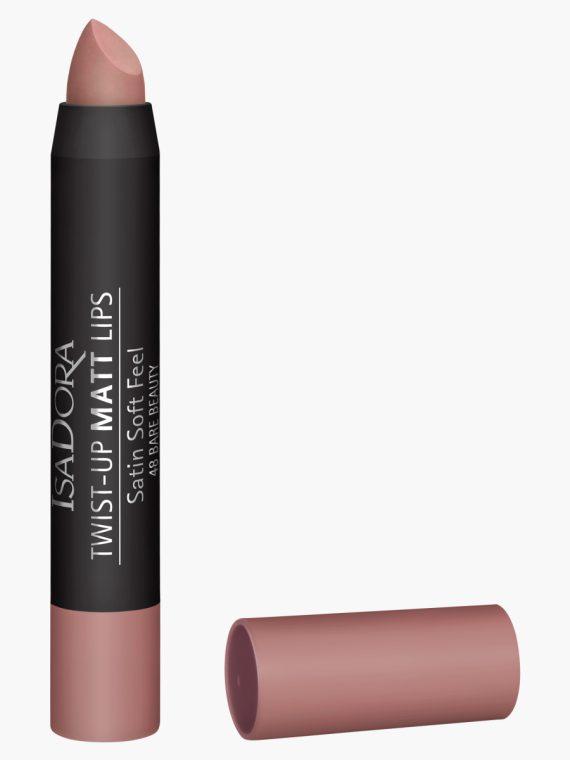 Isadora Twist Up Matte Lipstick - 3.3 gms - new