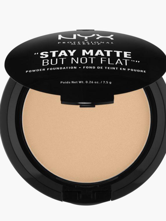 NYX Professional Makeup Stay Matte But Not Flat Powder Foundation - new