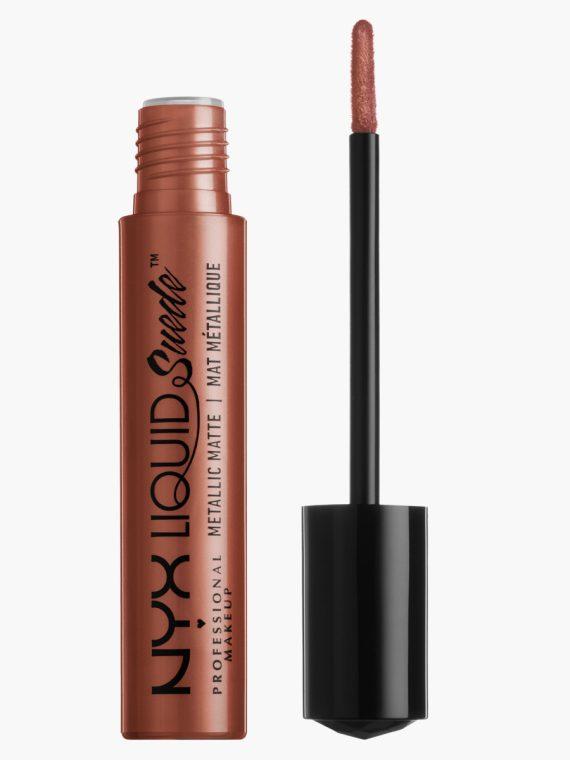 NYX Professional Makeup Suede Metallic Matte Creamy Lipstick - new