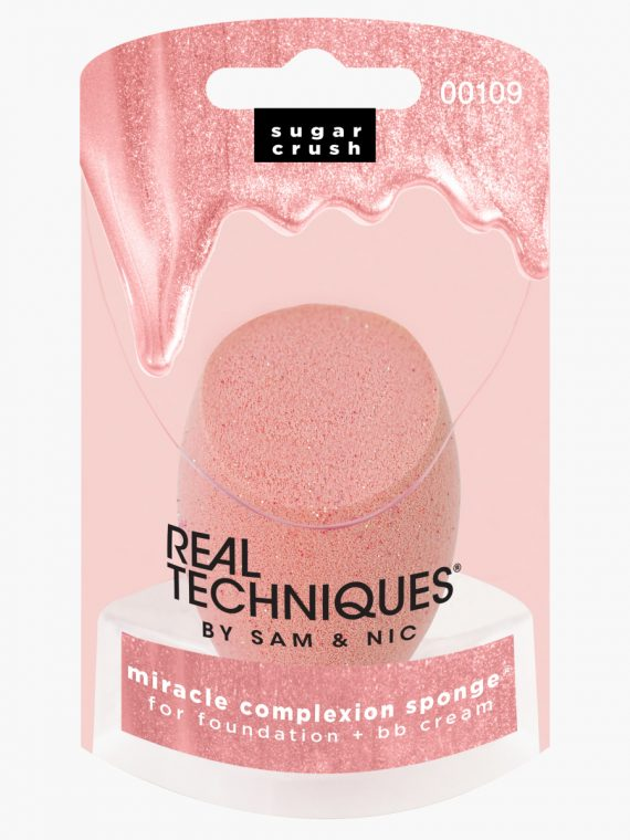 Real Techniques Miracle Complexion Sugar Crush Sponge - new
