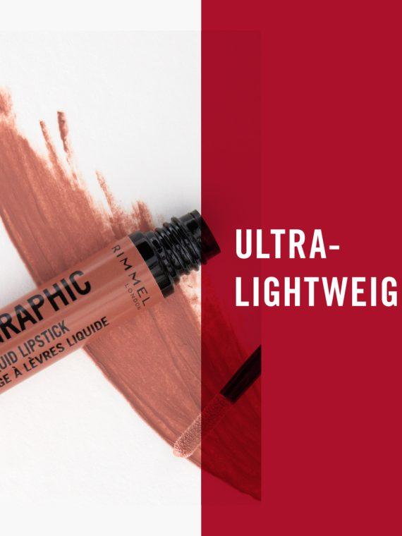 Rimmel Lip Art Graphic Liquid Lipstick - 1.8 ml - new