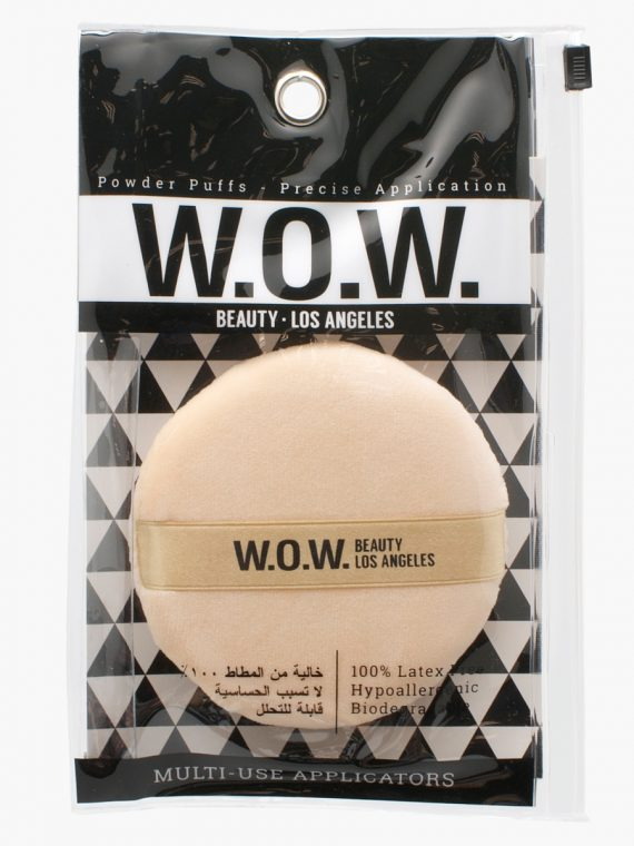 W.O.W Beauty Puff and Ribbon - new