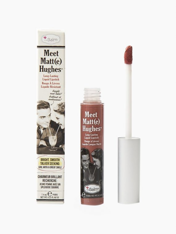 theBalm Meet Matte Hughes Long Lasting Liquid Lipstick - new