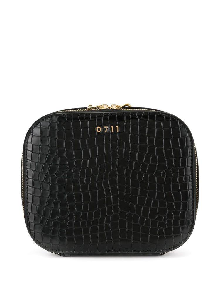 0711 large Ela cosmetic bag - Black - 0711