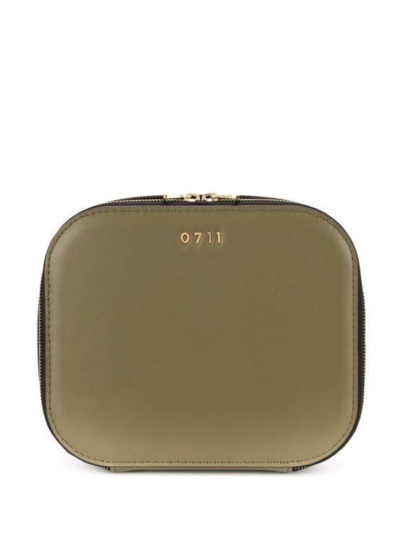 0711 large Ela cosmetic bag - Green - 0711