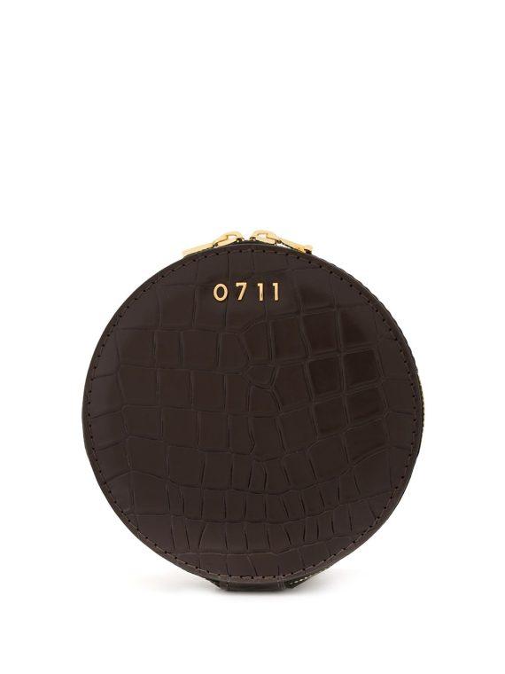 0711 medium Evi cosmetic bag - Brown - 0711