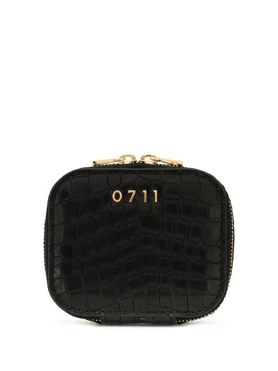 0711 small Ela cosmetic bag - Black - 0711