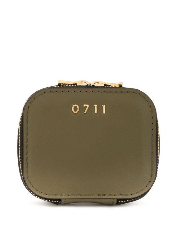 0711 small Ela cosmetic bag - Green - 0711