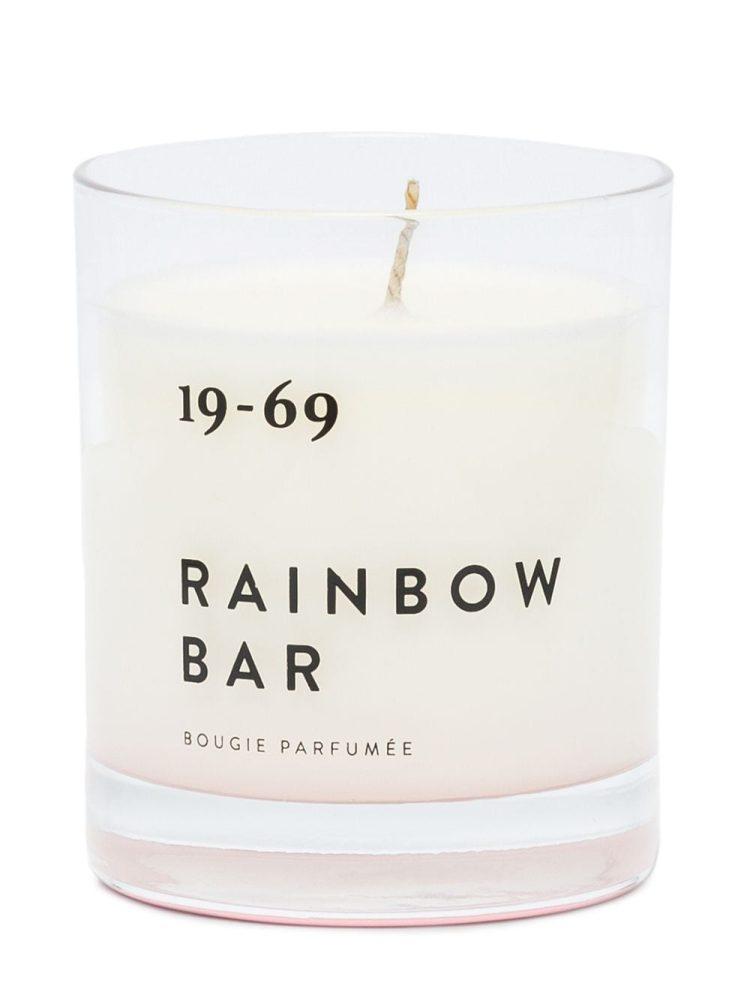 19-69 Rainbow Bar candle - White - 19-69