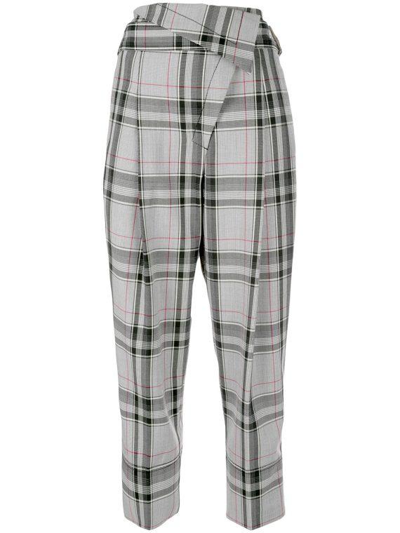 3.1 Phillip Lim plaid tapered trousers - MULTI - 3.1 Phillip Lim