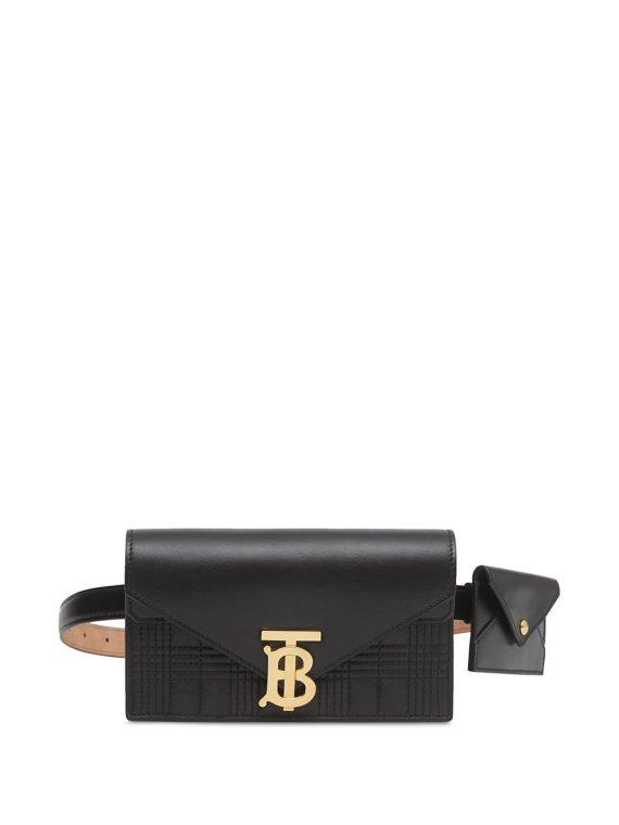 Burberry monogram belt bag - Black - Burberry