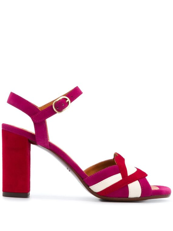 Chie Mihara Lipstick strappy sandals - Red - Chie Mihara