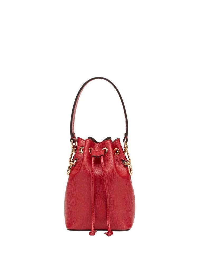 Fendi mini Mon Tresor bucket bag - Red - Fendi