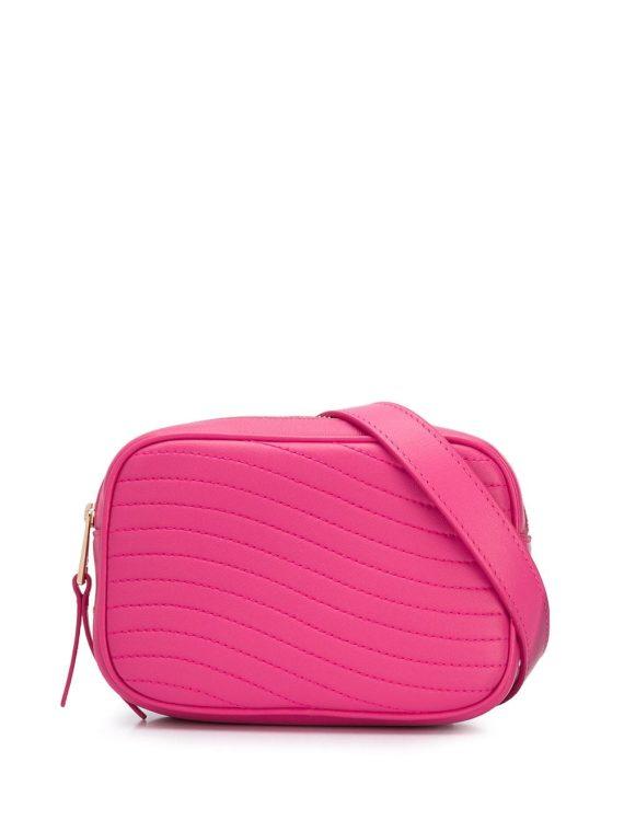 Furla Swing quilted belt bag - PINK - Furla
