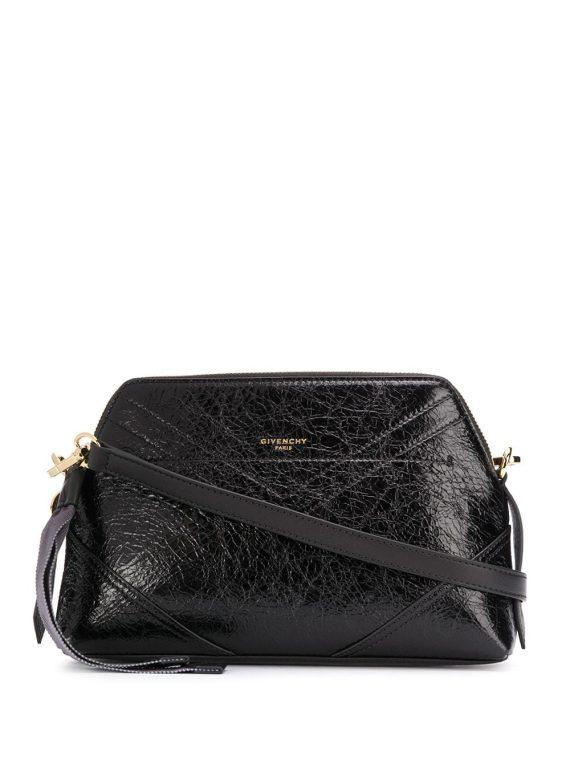 Givenchy crinkled effect crossbody bag - Black - Givenchy