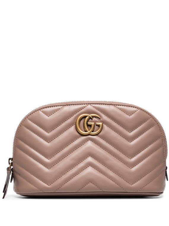 Gucci GG Marmont cosmetic case - Neutrals - Gucci