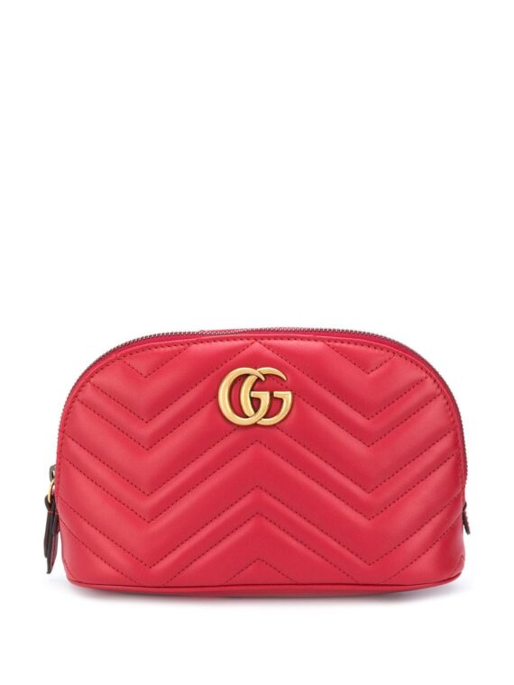 Gucci GG Marmont cosmetic case - Red - Gucci