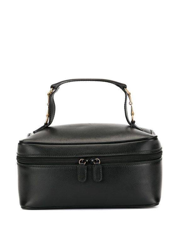 Gucci Pre-Owned Horsebit cosmetic box - Black - Gucci Pre-Owned