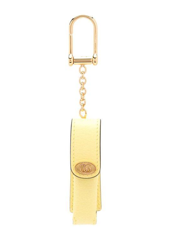 Gucci lipstick case keyring - Yellow - Gucci