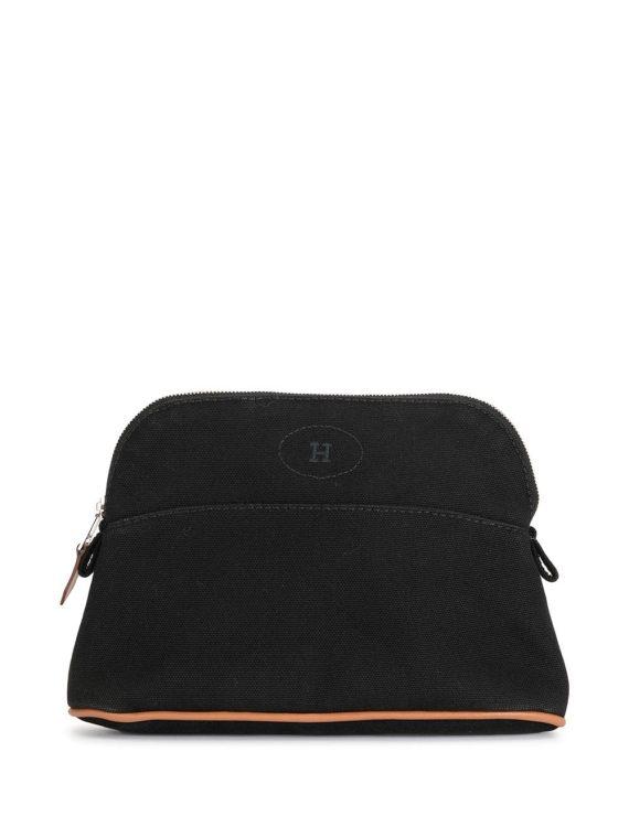 Hermès pre-owned Bolide PM cosmetic bag - Black - Hermès