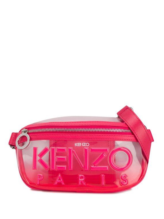 Kenzo Kombo transparent belt bag - PINK - Kenzo