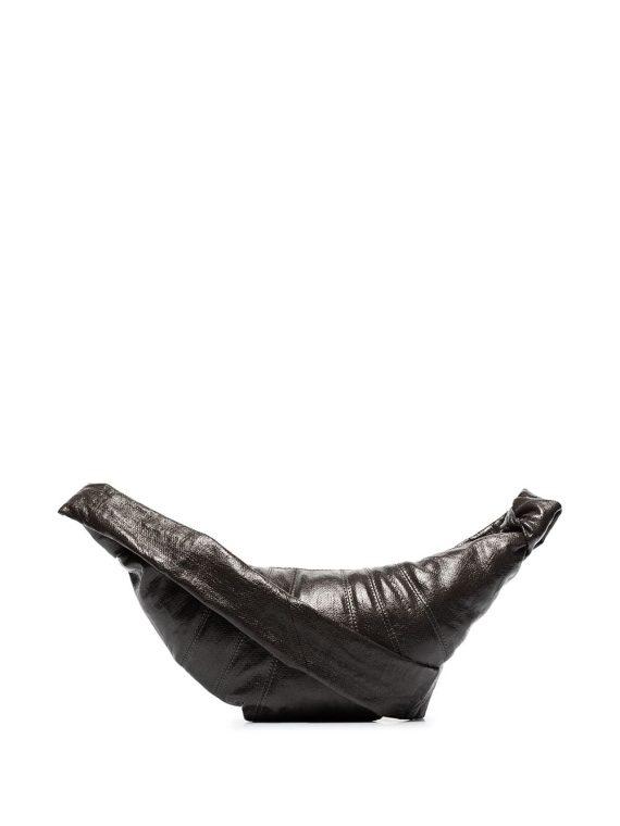 Lemaire coated crossbody belt bag - Grey - Lemaire