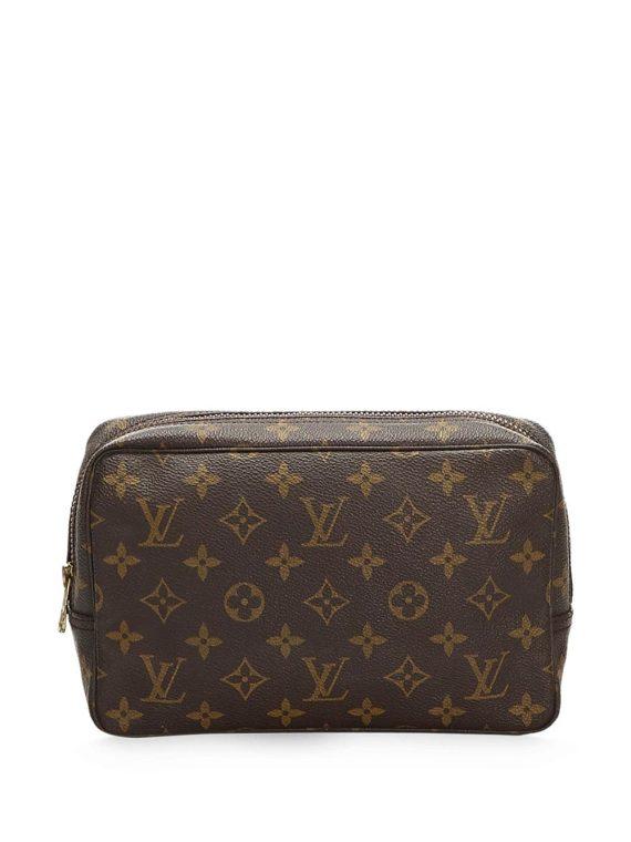 Louis Vuitton pre-owned Monogram cosmetic bag - Blue - Louis Vuitton