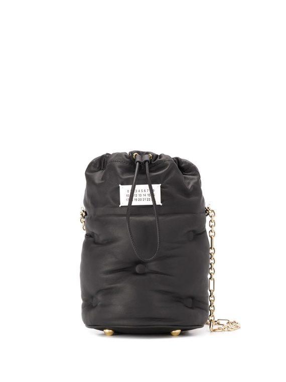 Maison Margiela small Glam Slam bucket bag - Black - Maison Margiela