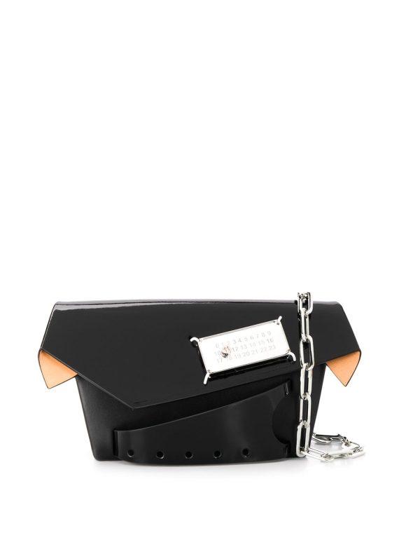 Maison Margiela small Snatched bag - Black - Maison Margiela