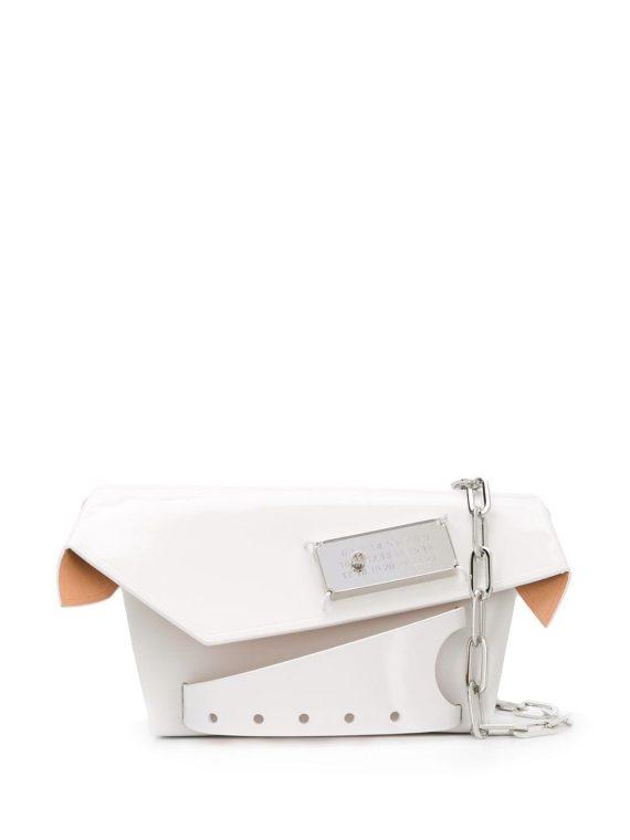 Maison Margiela small Snatched bag - White - Maison Margiela