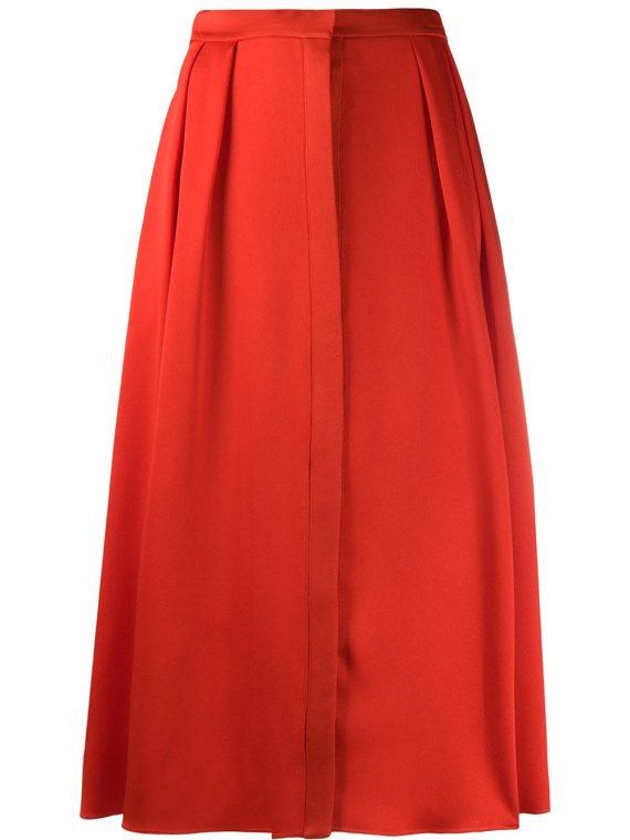 Maison Rabih Kayrouz high waisted full shape skirt - Red - Maison Rabih Kayrouz