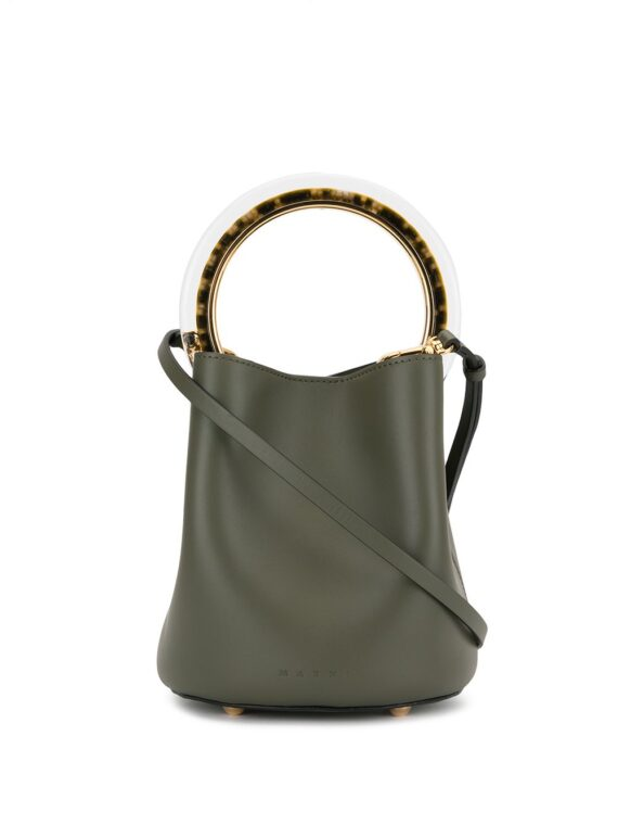 Marni Pannier bucket bag - Green - Marni