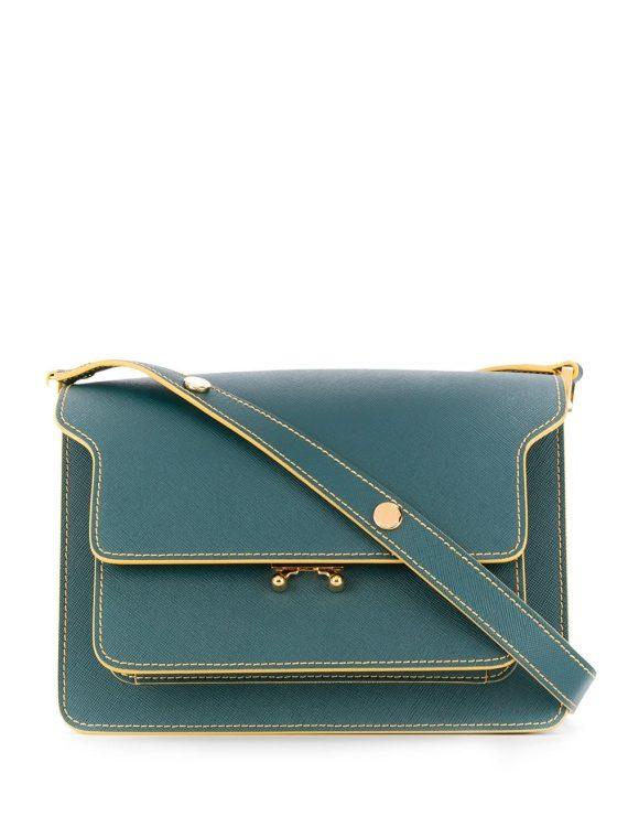 Marni Trunk shoulder bag - Blue - Marni