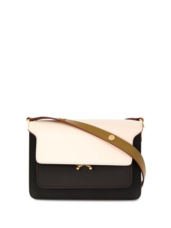 Marni Trunk tricolour shoulder bag - Black - Marni