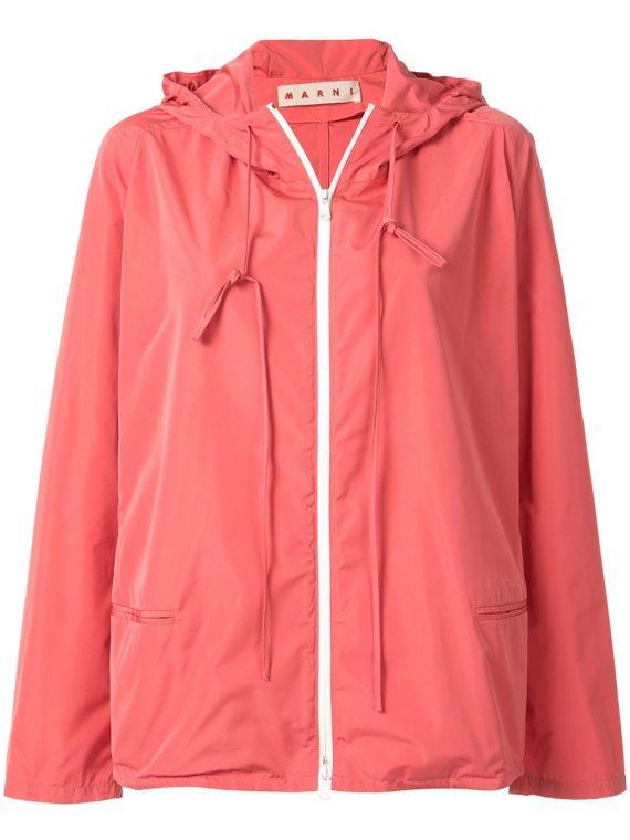 Marni light rain jacket - PINK - Marni