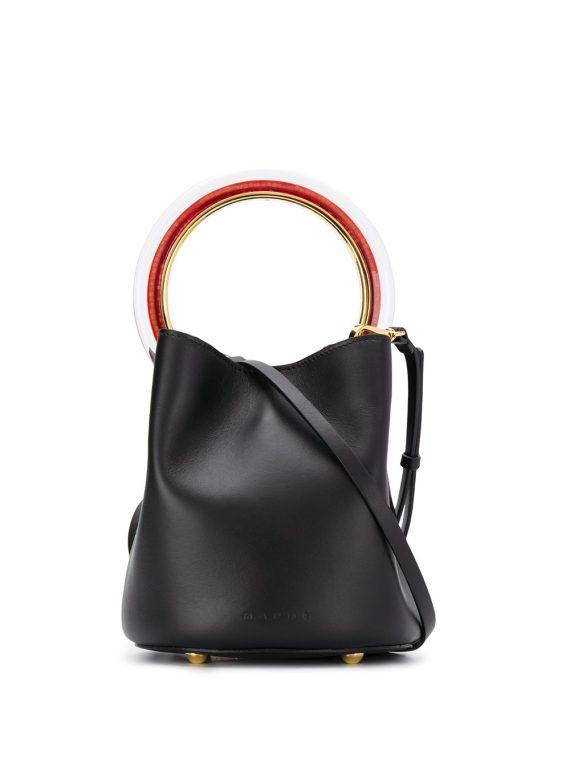 Marni small Pannier bucket bag - Black - Marni