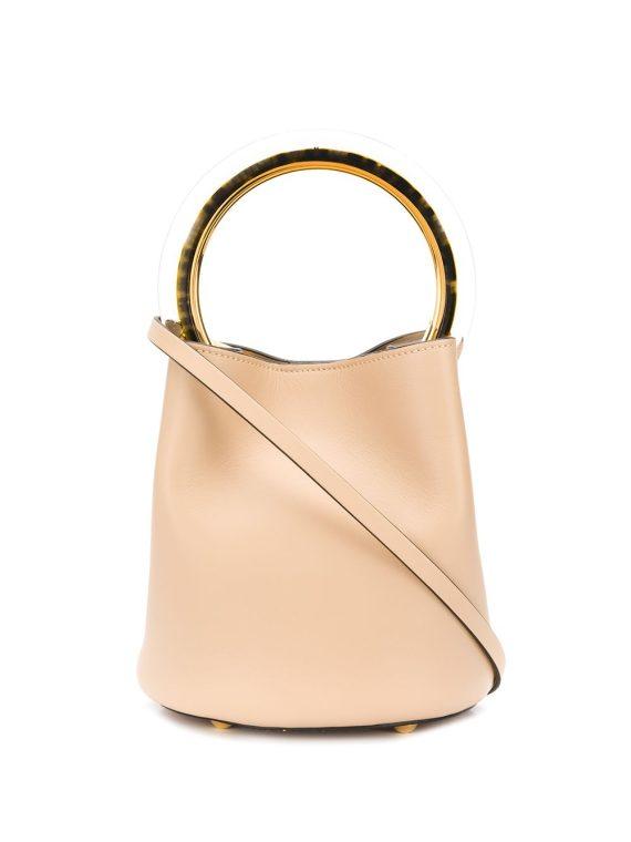 Marni small Pannier bucket bag - Neutrals - Marni