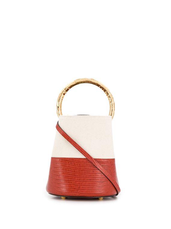 Marni two-tone Pannier bucket bag - Red - Marni