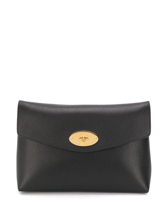 Mulberry Large Darley cosmetic pouch - Black - Mulberry