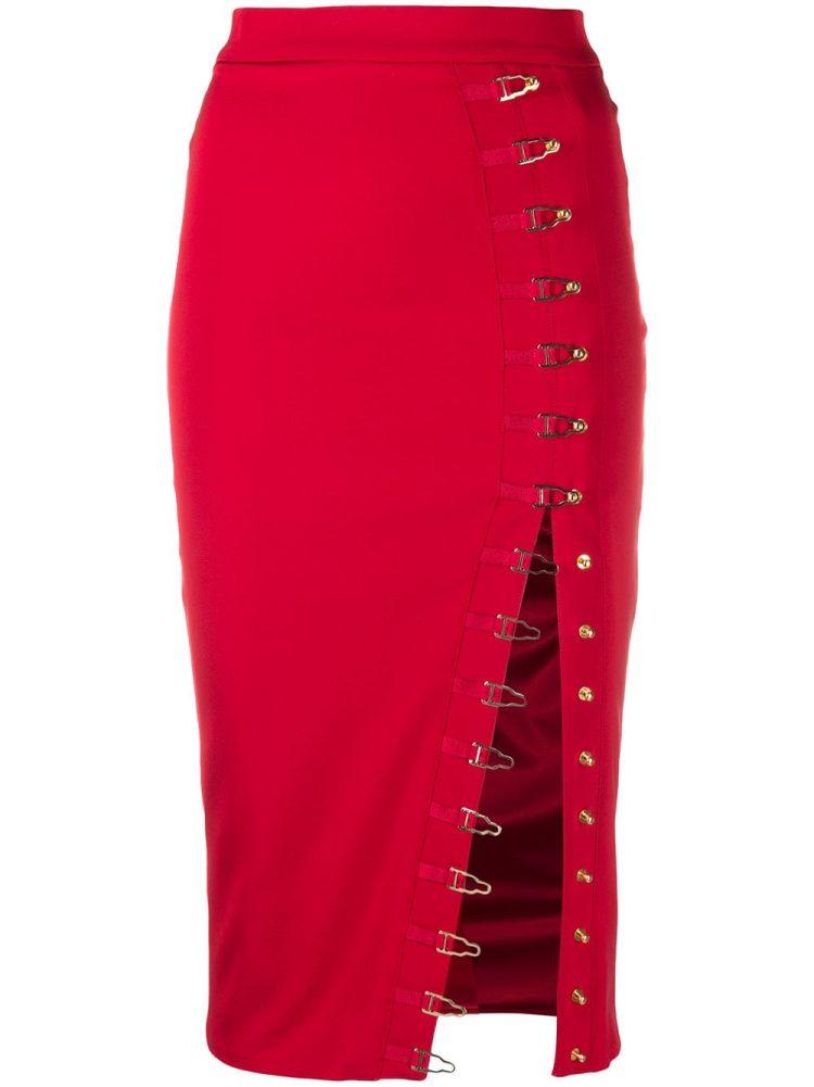 Murmur Ivy high-waisted skirt - Red - Murmur