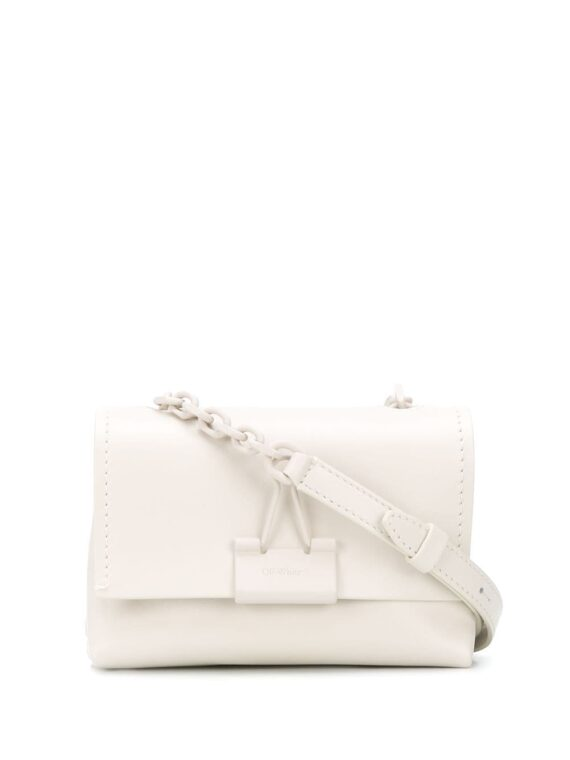 Off-White small Binder Clip shoulder bag - Off-White