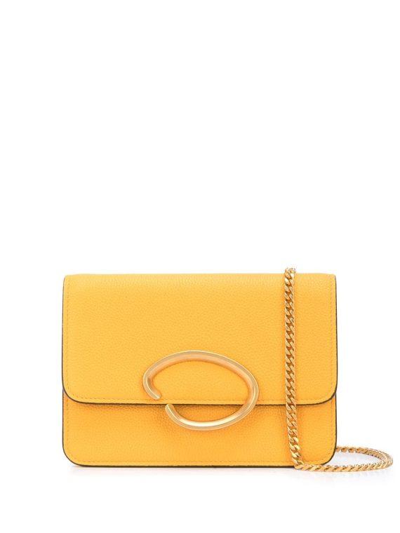 Oscar de la Renta O chain mini bag - Yellow - Oscar de la Renta