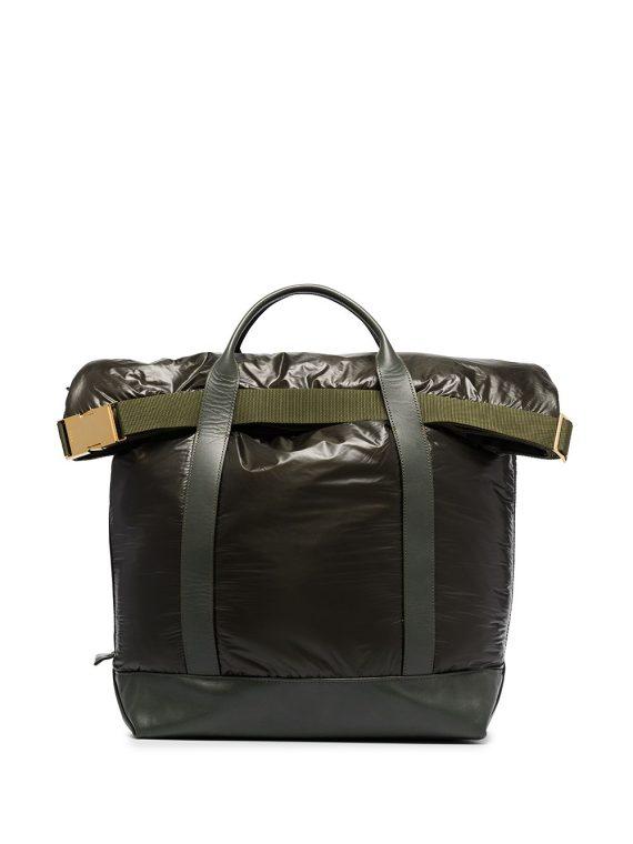 Sacai large tote bag - Green - Sacai