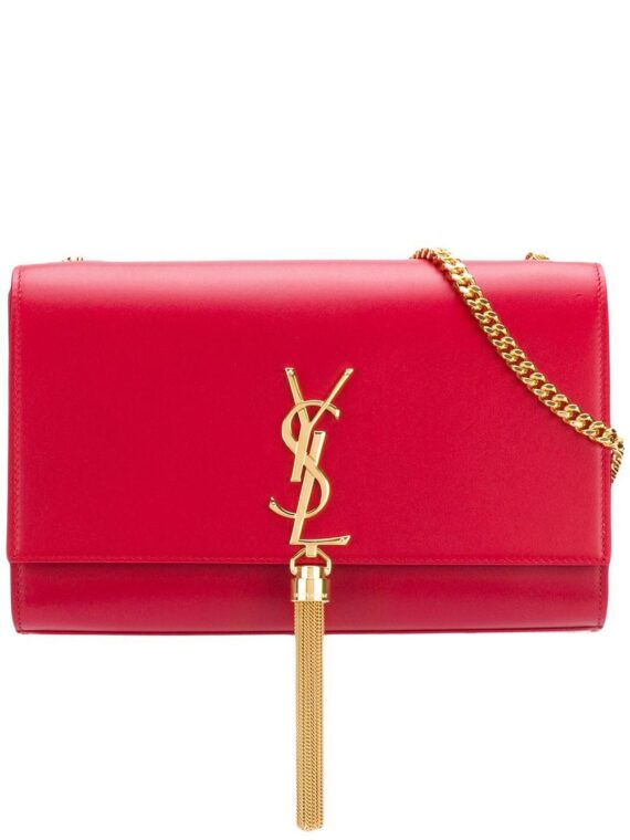 Saint Laurent Kate tassel shoulder bag - Red - Saint Laurent