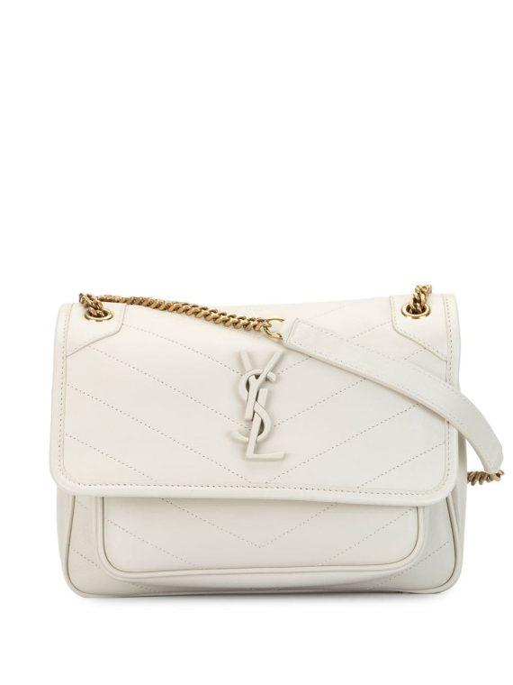 Saint Laurent baby Niki shoulder bag - White - Saint Laurent